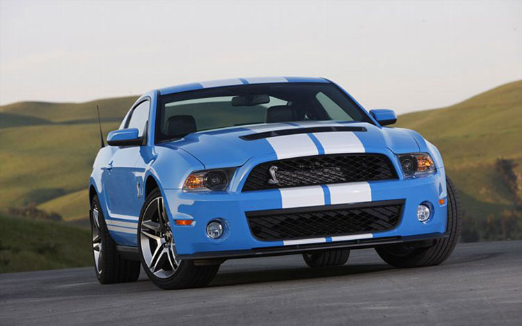 2010-2012 Shelby GT500