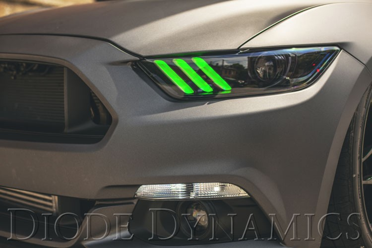 2015 2017 Ford Mustang Multicolor Drl Led Boards