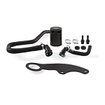 Mishimoto 11-14 Ford Mustang GT Baffled Oil Catch Can Kit - Black