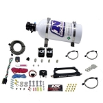 Nitrous Express 07-14 Ford Mustang GT500 Nitrous Plate Kit (50-250HP) w/5lb Bottle