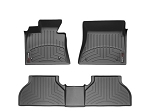 1 x wt441392 WeatherTech 05-09 Ford Mustang Rear FloorLiner - Black 1 x wt444681 WeatherTech 12-13 Ford Mustang Front FloorLiner - Black
