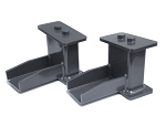 MaxTrac 09-18 Ford F-150 2WD 5in Rear Fabricated Steel Lift Blocks
