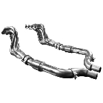 Kooks 15+ Mustang 5.0L 4V 2in x 3in SS Headers w/Catted OEM Connection Pipe
