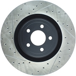 StopTech Slotted & Drilled Sport Brake Rotor - 2015 Ford Mustang GT - Front Right