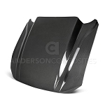 2018-2020 FORD MUSTANG DOUBLE SIDED TYPE-CJ CARBON FIBER COWL HOOD