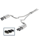 Ford Racing 2018 Mustang Gt 5.0L Cat-Back Touring Exhaust System w/Chrome Tips