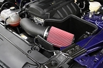 JLT 15-19 Ford Mustang 2.3L EcoBoost Black Textured Cold Air Intake Kit w/Red Filter