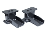 MaxTrac 09-18 Ford F-150 2WD 4in Rear Fabricated Steel Lift Blocks