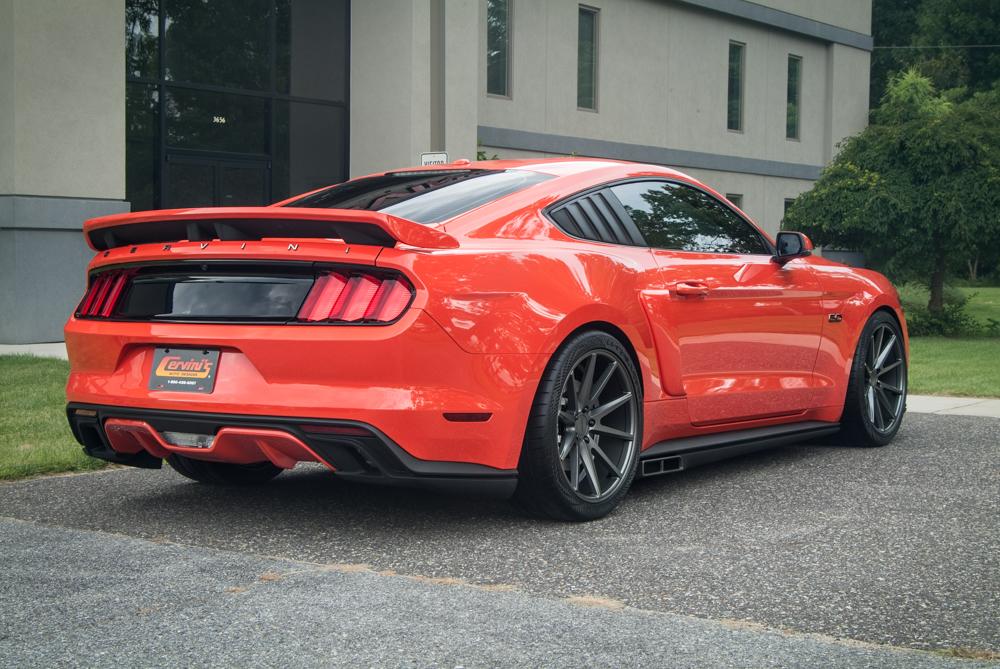C Series Mustang Pedestal Spoiler