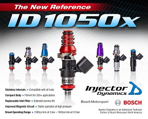 Injector Dynamics ID1050X Injectors 14mm (Purple) Adaptors (Set of 8)